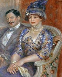 Renoir | Monsieur et Madame Bernheim de Villers, 1910 | Giclée Canvas Print