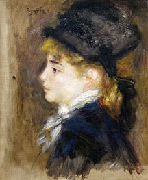 Renoir | Portrait of Margot, c.1876/78 | Giclée Canvas Print
