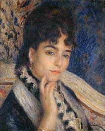 Renoir | Portrait of Madame Alphonse Daudet, 1876 | Giclée Canvas Print