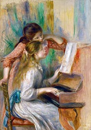 Renoir | Young Girls at the Piano, c.1890 | Giclée Canvas Print