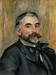 Renoir | Portrait of Stephane Mallarme, 1892 | Giclée Canvas Print