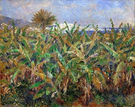 Renoir | Banana Plantation, 1881 | Giclée Canvas Print