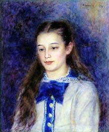 Renoir | Therese Berard, 1879 | Giclée Canvas Print