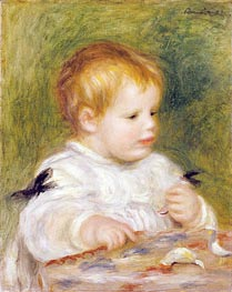 Renoir | Jacques Fray as a Baby, 1904 | Giclée Canvas Print