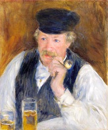 Renoir | Monsieur Fournaise (Man with a Pipe), 1875 | Giclée Canvas Print