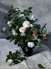 Renoir | Still Life with Roses, c.1866 | Giclée Canvas Print