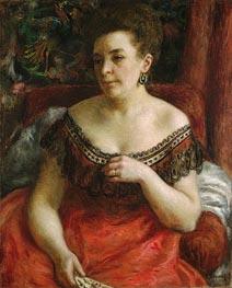 Renoir | Madame Pierre Henri Renoir (Blanche-Marie Blanc), 1870 | Giclée Canvas Print