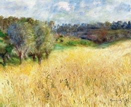 Renoir | Wheatfield, 1879 | Giclée Canvas Print
