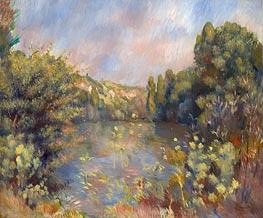 Renoir | Lakeside Landscape | Giclée Canvas Print