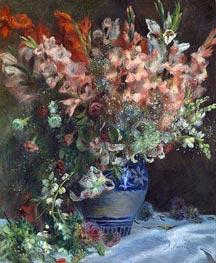 Renoir | Gladioli in a Vase | Giclée Canvas Print