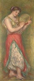 Renoir | Dancing Girl with Tambourine | Giclée Canvas Print