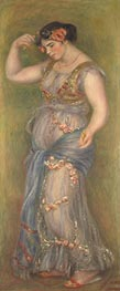 Renoir | Dancing Girl with Castanets, 1909 | Giclée Canvas Print