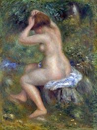 Renoir | A Bather, c.1885/90 | Giclée Canvas Print