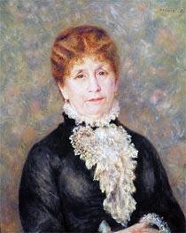 Renoir | Madame Eugene Fould, 1880 | Giclée Canvas Print