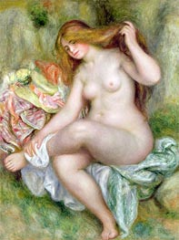 Renoir | Seated Bather, c.1903/06 | Giclée Canvas Print