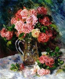 Renoir | Roses, c.1879 | Giclée Canvas Print