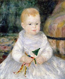 Renoir | Child with a Toy Clown, undated | Giclée Canvas Print