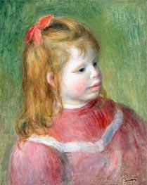 Renoir | Portrait of Jean, c.1897 | Giclée Canvas Print