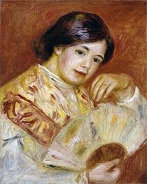 Renoir | Coco with a Japanese Fan, c.1906 | Giclée Canvas Print