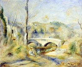 Renoir | Landscape with a Bridge, undated | Giclée Canvas Print