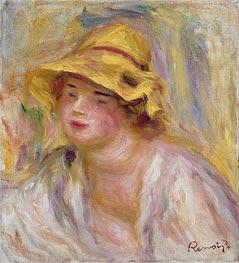 Renoir | Study of a Girl, c.1918/19 | Giclée Canvas Print