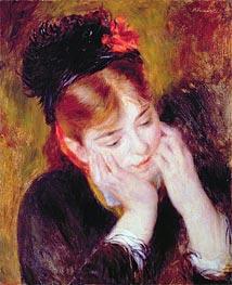 Renoir | Contemplation, 1877 | Giclée Canvas Print