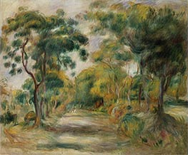Renoir | Landscape at Noon, 1900 | Giclée Canvas Print