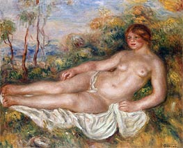 Renoir | The Reclining Bather, 1906 | Giclée Canvas Print