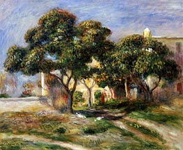 Renoir | The Medlar Trees, undated | Giclée Canvas Print