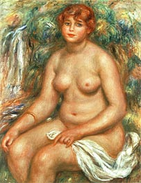 Renoir | Seated Bather, 1916 | Giclée Canvas Print