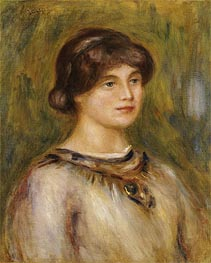Renoir | Portrait of Marie Lestringuez, undated | Giclée Canvas Print