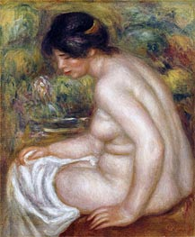 Renoir | Seated Bather (Gabrielle), undated | Giclée Canvas Print