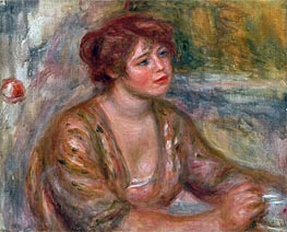Renoir | The Cup of Coffee (Portrait of Andree), 1917 | Giclée Canvas Print