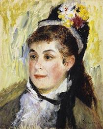 Renoir | Portrait de Madame Edmond Renoir | Giclée Canvas Print
