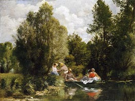 Renoir | La Mare aux Fees, undated | Giclée Canvas Print