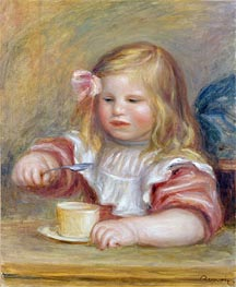 Renoir | Coco Eating his Soup, undated | Giclée Canvas Print