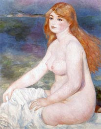 Renoir | Bather (Blonde Bather II), 1882 | Giclée Canvas Print