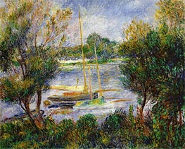 Renoir | The Seine at Argenteuil, 1888 | Giclée Canvas Print