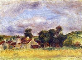 Renoir | Brittany Countryside, c.1892 | Giclée Canvas Print