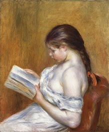 Renoir | Reading, 1888 | Giclée Canvas Print