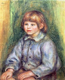 Renoir | Seated Portrait of Claude Renoir, c.1905/08 | Giclée Canvas Print