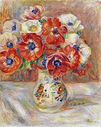 Renoir | Still Life with Anemones, undated | Giclée Canvas Print