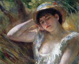 Renoir | The Sleeper, 1880 | Giclée Canvas Print