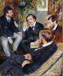 Renoir   The Artist's Studio, Rue Saint-Georges, 1876   Giclée Canvas Print