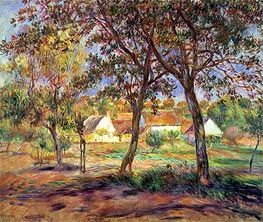 Renoir | The Outskirts of Pont-Aven, c.1888/90 | Giclée Canvas Print