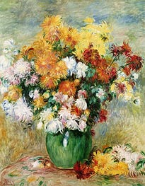 Renoir | Bouquet of Chrysanthemums, c.1884 | Giclée Canvas Print