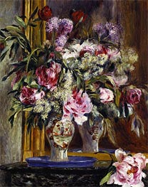 Renoir | Vase of Flowers, 1871 | Giclée Canvas Print