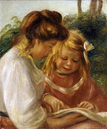 Renoir | The Alphabet, Jean and Gabrielle, undated | Giclée Canvas Print