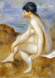 Renoir | Bather, c.1892/93 | Giclée Canvas Print