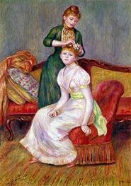 Renoir | Hair Style, 1888 | Giclée Canvas Print